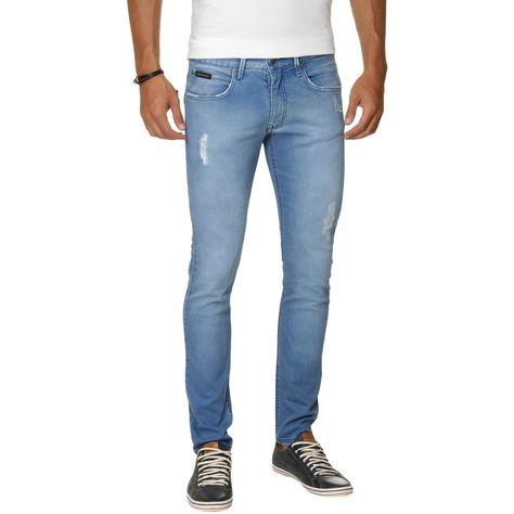270192dad COMPRE AQUI  Calça Jeans Calvin Klein Jeans Super Skinny - Azul  (Cód.125686827)