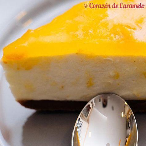 Espectacular tarta de naranja. Además, no necesitas encender el horno para…