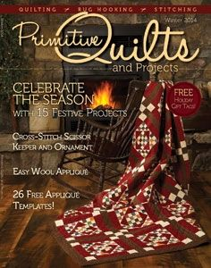 118 best Primitive Quilts and Projects images on Pinterest ... : primitive quilts and projects magazine - Adamdwight.com