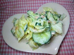 キャベツ きゅうり サラダ