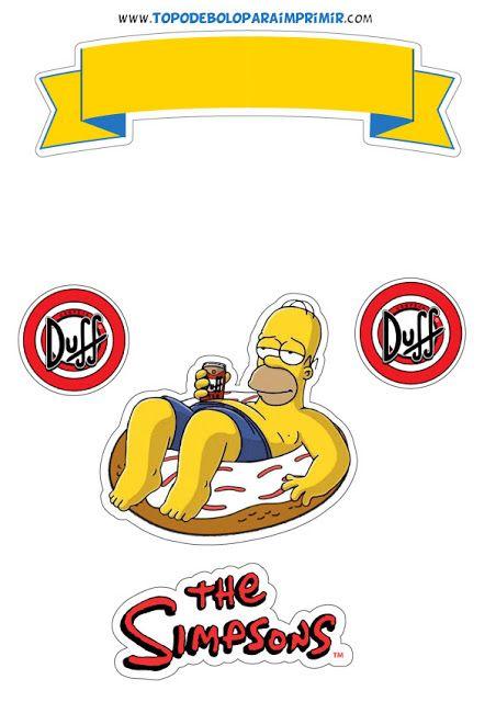 Pastel Homero Simpson