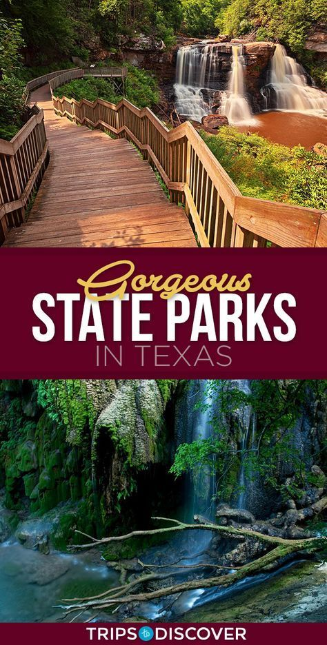 Texas is a big state and this means lots of land for beautiful state parks, over 90 to be exact. There are many gorgeous state parks in the Lone Star State but here are 12 picks you definitely want to see at least once in your lifetime. Texas Vacations, Texas Roadtrip, Texas Travel, Travel Usa, Texas Getaways, Vacation Spots In Texas, Paris Travel, Dream Vacations, Vacation Ideas
