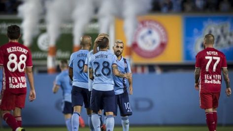 Heber's goal gives NYCFC win over Red Bulls