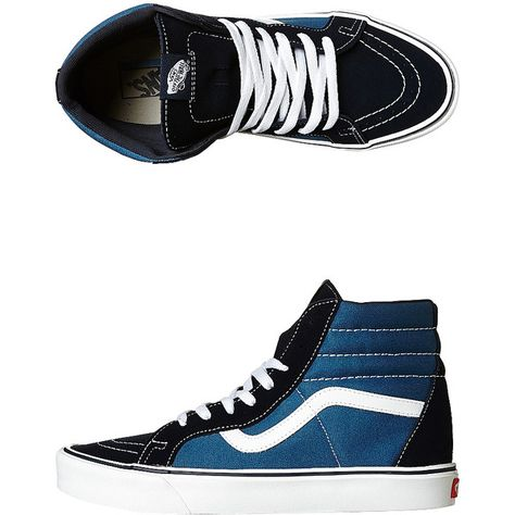3a1a3ac373 Vans Womens Sk8 Hi Lite Plus Shoe (140 AUD) ❤ liked on Polyvore featuring  shoes