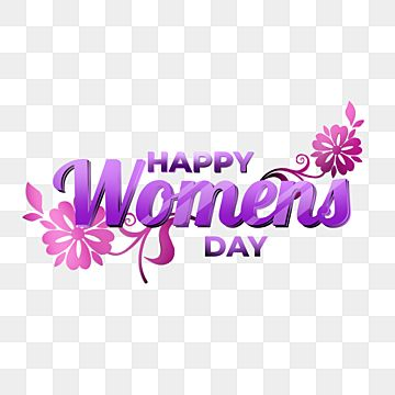 International Womens Day Transparen Background Happy Womens Day Girl Cute Png Transparent Clipart Image And Psd File For Free Download Happy Woman Day Pink Invitations Purple Flower Background