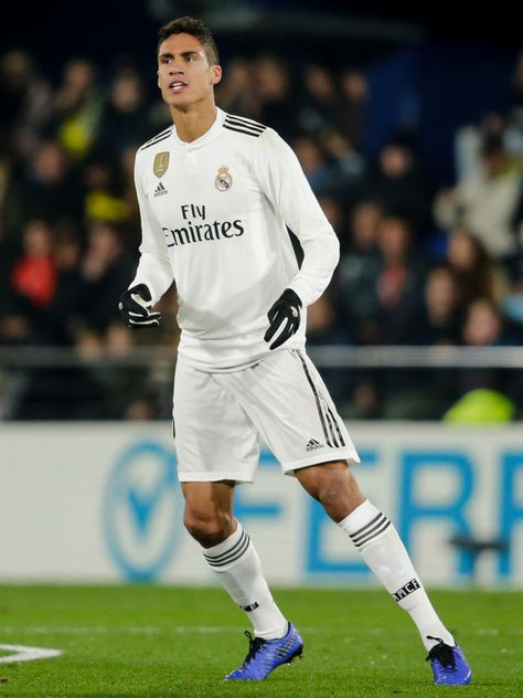 e84d43eaed7 Raphael Varane of Real Madrid during the La Liga Santander match ...