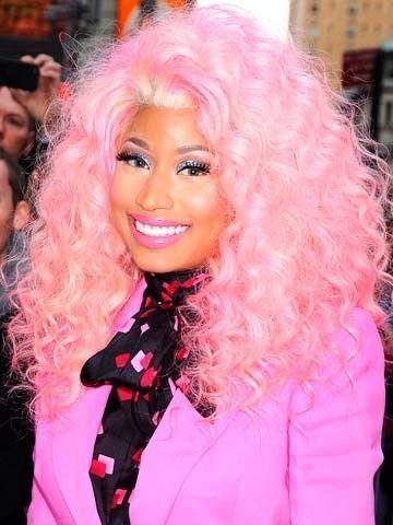 Nicki Minaj Barbie Hair Nicki Minaj Hairstyles Bright Pink Hair