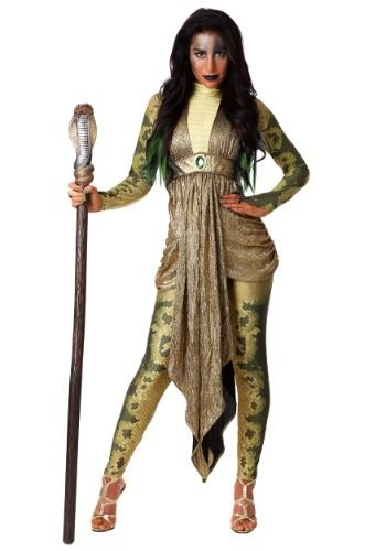 Forum Novelties Womens Medusa Costume Headpiece Green