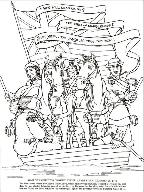 american revolution coloring pages # 7