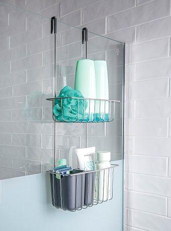 Tu Baño Más Ordenado Que Nunca Leroy Merlin Organización De Ducha Color Para Baños Organizador De Baño