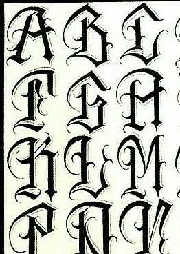 Tribal Lettering : tribal, lettering, Олег,