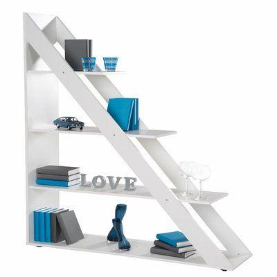 Ebern Designs Magdaleno Ladder Bookcase Ladder Bookcase Shelves