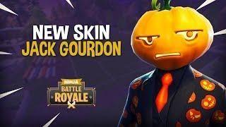New Jack Gourdon Skin Fortnite Battle Royale Gameplay Ninja Fortnite Battle New Jack