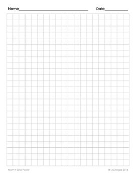 Grid Paper That S Easy To Print Two Sided Great To Use When Teaching Anything That Req Printable Graph Paper Paper Template Free Printable Paper Template Free