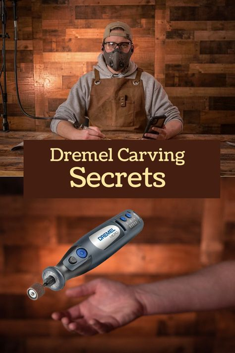 How to wood carve with the Dremel Stylo. Learn how to wood carve/power carve with the Dremel Stylo. Dremel Werkzeugprojekte, Dremel Carving, Dremel Rotary Tool, Chainsaw Wood Carving, Dremel Tool Bits, Fish Wood Carving, Simple Wood Carving, Dremel Tool Projects, Wood Projects