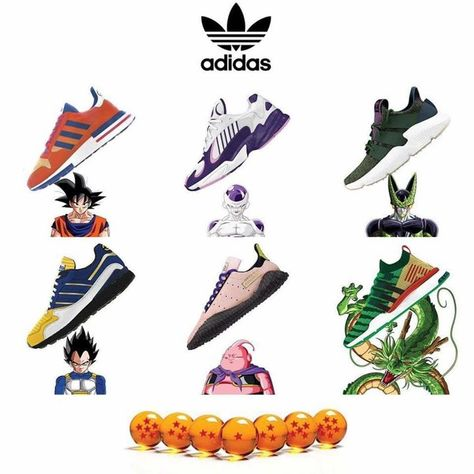 gesto Tacón Pence  60+ Best DragonBall Z Adidas images | adidas, dragon ball z, dragon ball