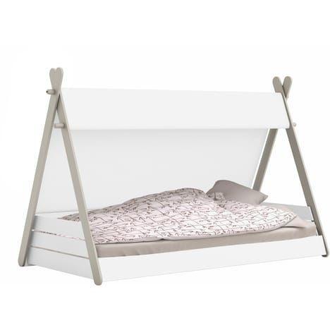 Lit Enfant Cabane Tom Pour Couchage 90x200cm Pas Cher A Prix Auchan Lit Tipi Lit Enfant Lit Enfant Cabane