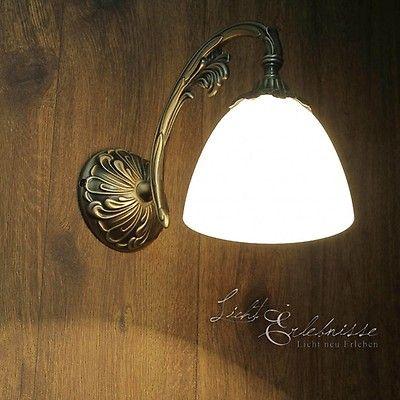 Wandleuchte Aus Echt Messing In Bronze Beatrice Deckenleuchte Wohnzimmer Wandleuchte Lampen