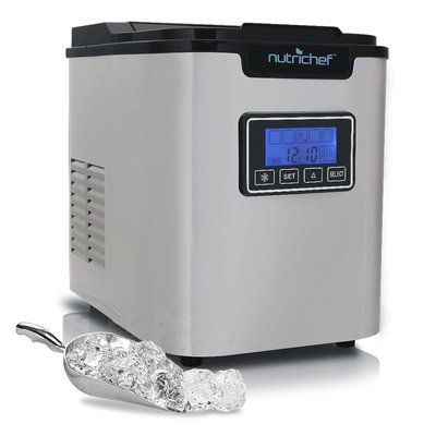 Pure Clean Countertop Ice Maker Portable Kitchen Ice Cube