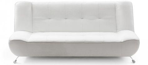 Luigi Faux Leather White Sofa Bed #Sabichi #sofabed | Sabichi Sofa Beds |  Pinterest | Sofa Beds, White Sofas And Sofas