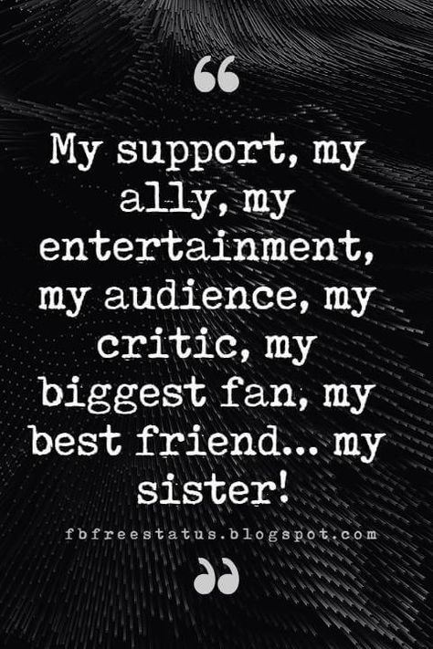 Inspirational Sister Quotes And Sayings With Images Sister Quotes: Looking for the best sister quotes pictures, photos & images? Here is Best collection of Sister Quotes and Sayings Missing Sister Quotes, Cute Sister Quotes, Sister Quotes Images, Sister Quotes In Hindi, Little Sister Quotes, Brother Birthday Quotes, Brother Sister Quotes, Bff Quotes, Cute Quotes