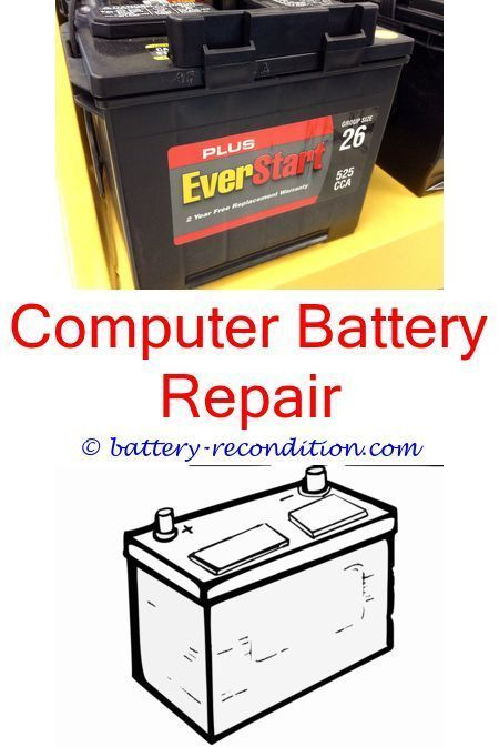 How To Restore A Battery Reconditioning Nicad Batteries Battery Reconditioning Business Fix It Computer Battery Recondition Batteries Battery Repair