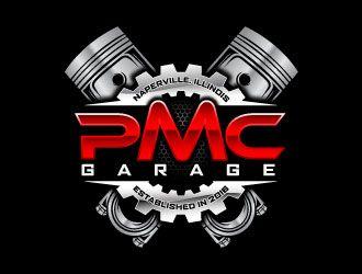 Pmc Garage Logo Design Concepts 28 Garage Logo Mechanic Logo Design Logo Design