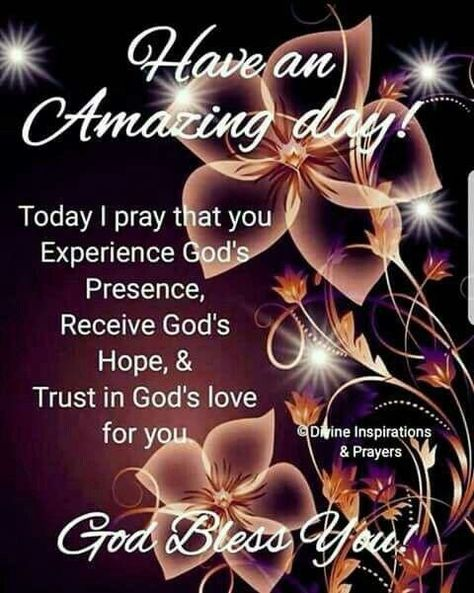 May you experience all he has to give
