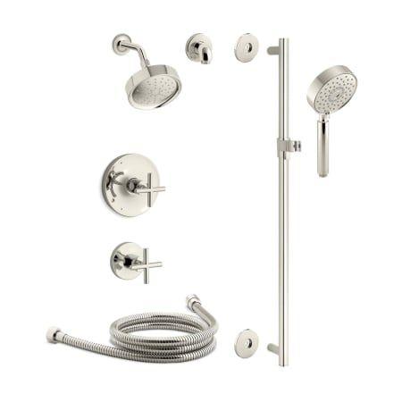 Kohler Kss Purist 3 Rths Shower Systems Shower Heads Shower Arm