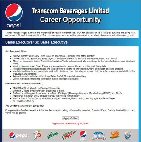 Transcom Limited Job Circular Application Form 2018 - transcombd