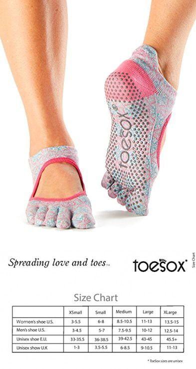 Toe socks, Barre socks