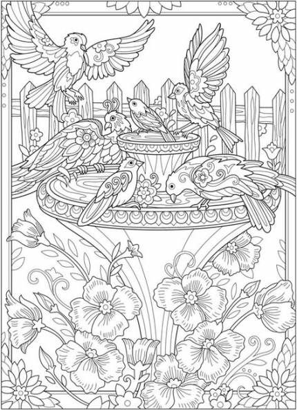 Bird Crafts For Adults Dover Publications 15 Best Ideas Cute Coloring Pages Mermaid Coloring Pages Coloring Pages