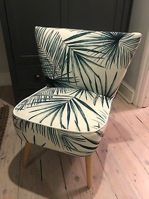 Strange Maison Du Monde Palm Print Chair Brand New Connecting Caraccident5 Cool Chair Designs And Ideas Caraccident5Info