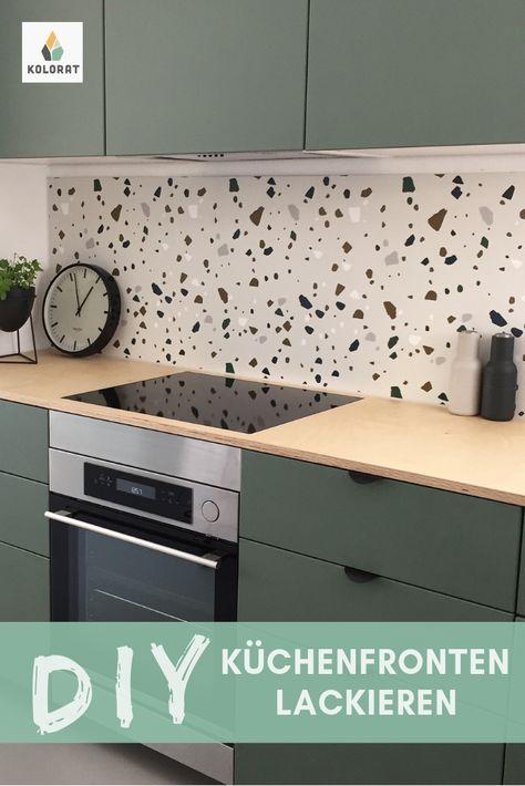 Lackier deine Küchenfronten einfach selbst mit Lack von www ...