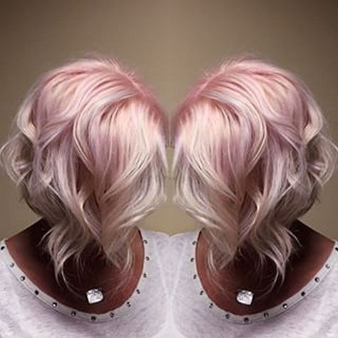 Must have 50 Colorful Pink Hairstyles to Inspire Your Next Dye Job | Fashion https://dressfitme.com/50-colorful-pink-hairstyles-inspire-next-dye-job/
