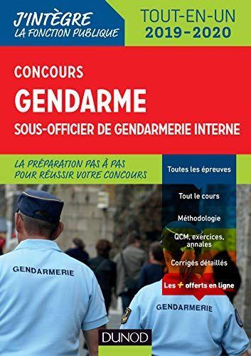 Telecharger Concours Gendarme Sous Officier De Gendarmerie Interne Tout En Un Concours 2019 2020 Pdf G Sous Officier Officier De Gendarmerie Telechargement