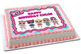 Resultado De Imagen De Lol Surprise Doll Birthday Cake Doll