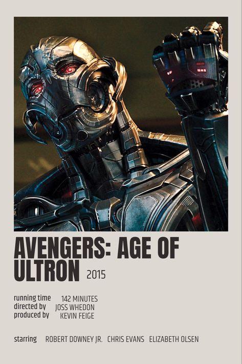 Avengers Age Of Ultron Polaroid Poster Marvel