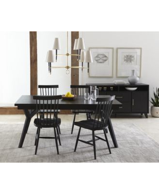 Bensen Expandable Dining Table Created For Macy S Expandable Dining Table Dining Table Furniture