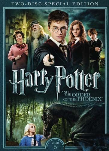 Harry Potter And The Order Of The Phoenix Dvd Walmart Com Harry Potter 5 Harry Potter Dvd Harry Potter Movies