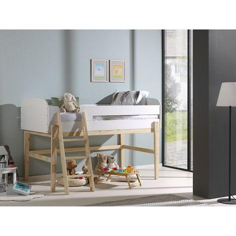 Home24 Einzelbett Kiddy In 2019 Halbhohes Hochbett Bett