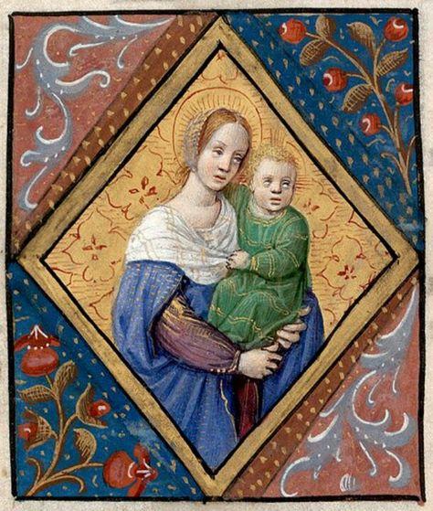 Liber Horarum (1500, francés) Biblioteca Nacional de Dinamarca