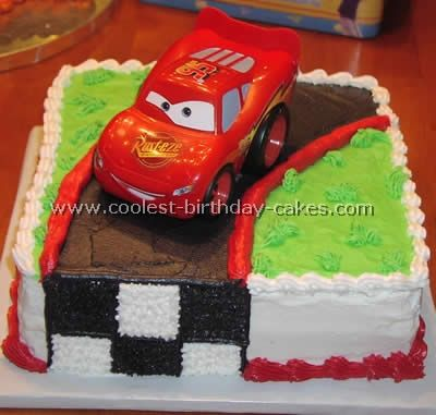 Best Images About Lightning McQueen On Pinterest Cars Race - Easy car birthday cake