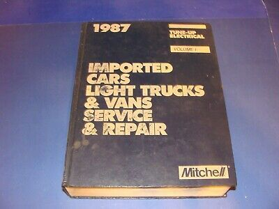 Advertisement Ebay Repair Manual 1987 Imported Cars Light Trucks