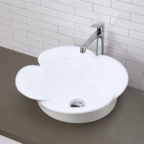 Decolav Classically Redefined Petal China Vessel Sink Atg Stores