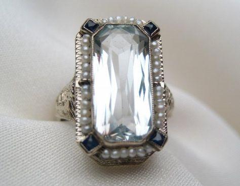vintage...love the seed pearls