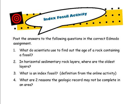Index Fossils Activity Law Of Superposition Earth S Biological History Fossils Activities Activities How To Find Out