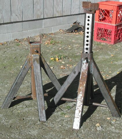 lets see pics, easy homemade jackstands - : and Off-Road Forum