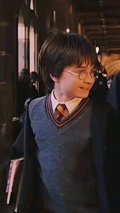 The cute harry potter