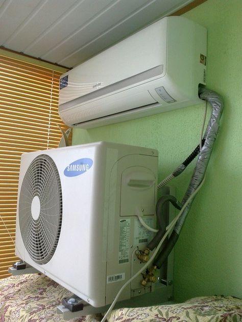 Diese makellose Installation einer Klima-Anlage.   22 schreckliche Heimwerker-Fails, die in Wahrheit wahnsinnig komisch sind